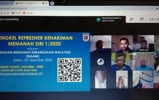 BENGKEL REFRESHER KEHAKIMAN MEMANAH SIRI 1 2020 PIC3