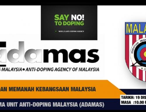 NAAM Anjur Webinar Pengenalan Anti-Doping untuk Atlet, Pegawai dan Jurulatih