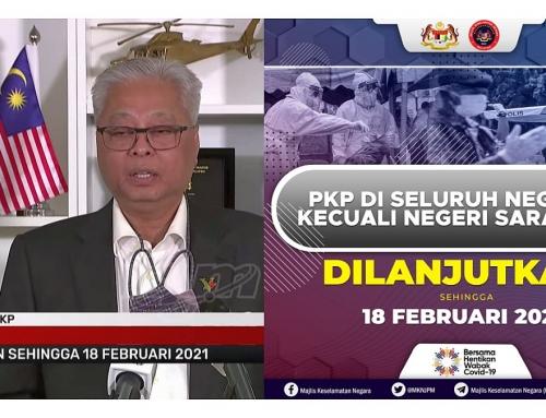 MKN: PKP 2.0 DISELURUH NEGARA DILANJUTKAN